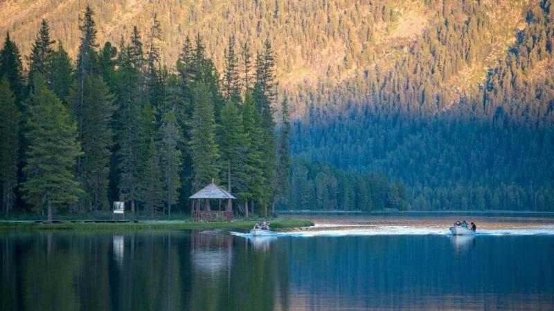 哈萨克斯坦最美丽风景TOP-10之:拉赫曼山泉