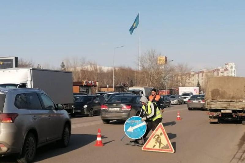Алтай Көлгінов елордадағы жол сапасын сынға алды