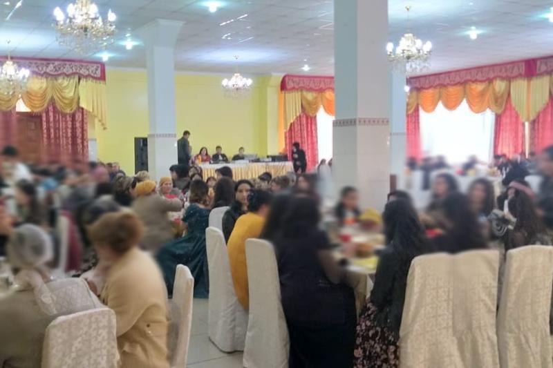 В двух районах Туркестанской области проходилитои, несмотря на карантин