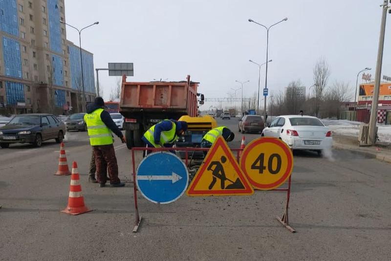 Работу дорожников в столице раскритиковал Алтай Кульгинов