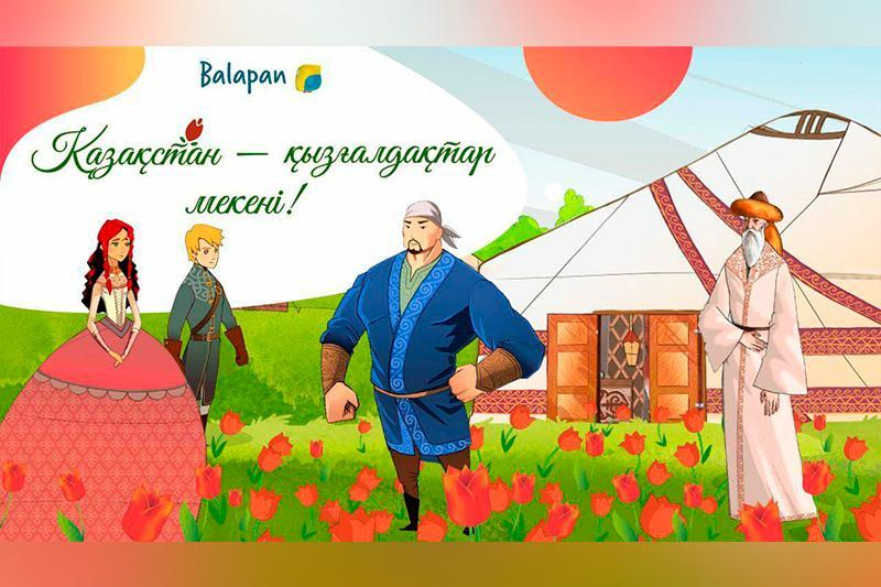 Kazakhstan-the birthplace of tulips animated project to be broadcast