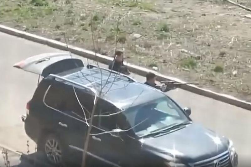 Стрельбу устроили мужчины в одном из микрорайонов Алматы