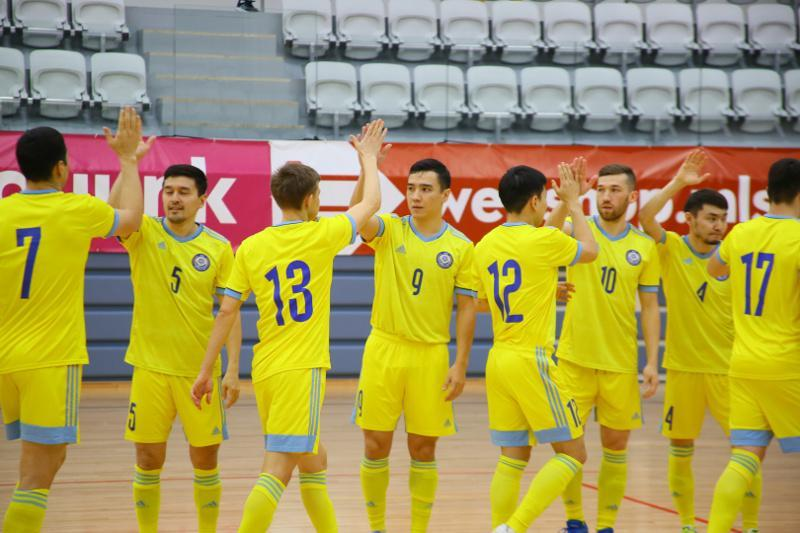 欧洲室内足球锦标赛:哈萨克斯坦大胜以色列