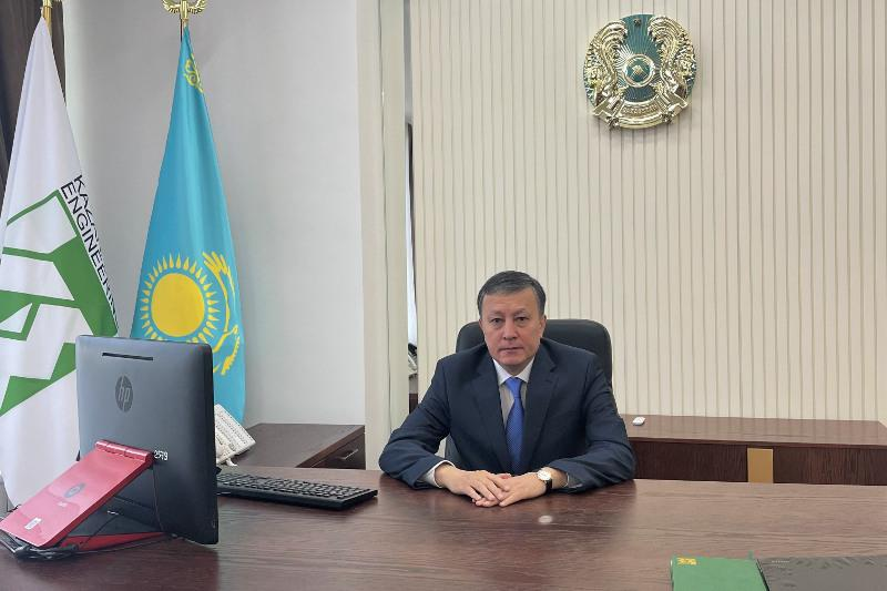 «Қазақстан Инжиниринг» ҰК» АҚ жаңа басшысы тағайындалды