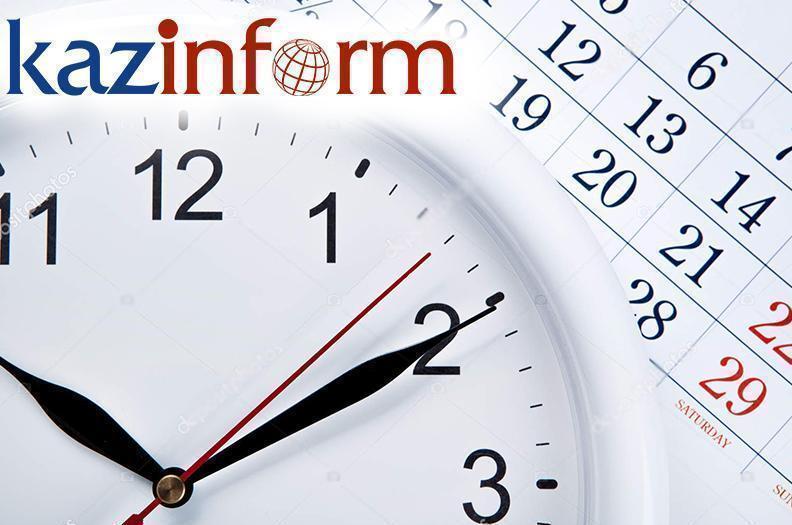 April 10. Kazinform's timeline of major events