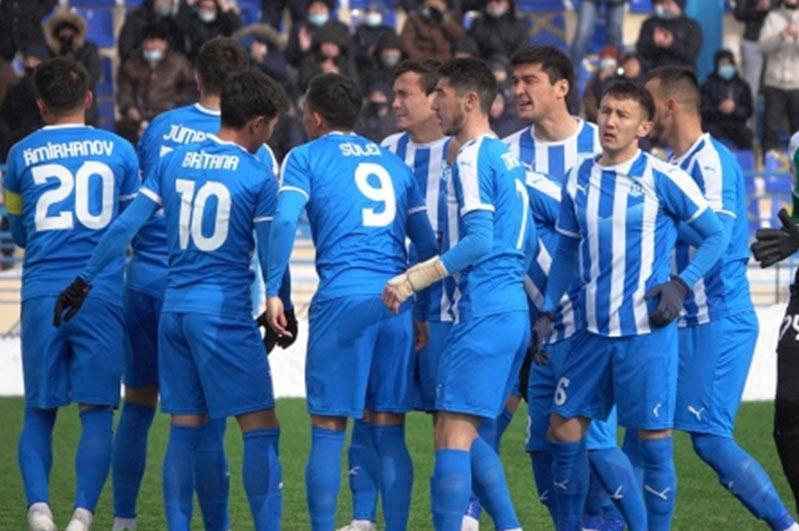У ФК «Тараз» - очередная победа в чемпионате страны