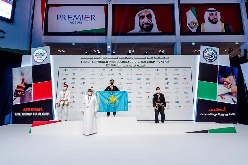 Казахстанец стал чемпионом мира по джиу-джитсу в Абу-Даби
