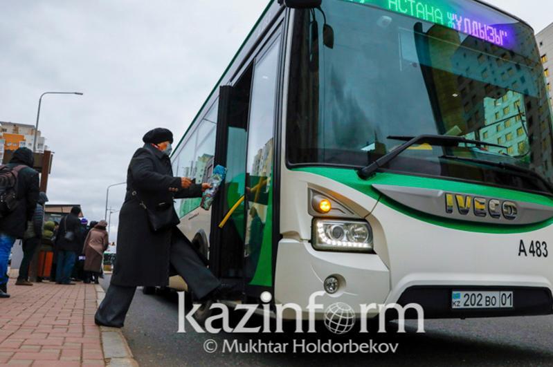 Астанада жексенбі күні қоғамдық көлік жүрмейді
