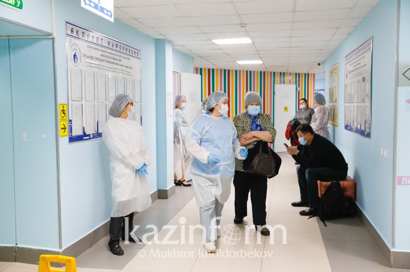 Восемь регионов Казахстана находятся в «красной» зоне по коронавирусу