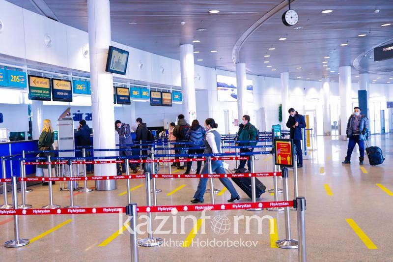 16 авиапассажиров прилетели в Казахстан без ПЦР-справок