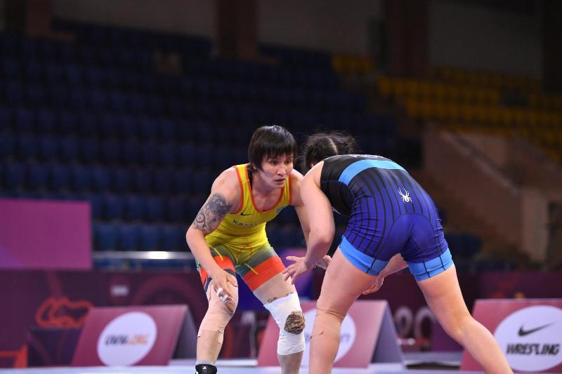 Татьяна Ахметова-Аманжол күрес түрлерінен Олимпиадаға жолдама алды