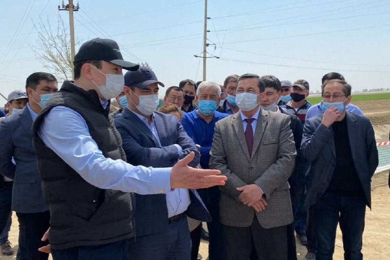 Цифровизацию водных каналов проводят в Туркестанской области