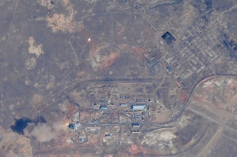 Байқоңырдан «Гагарин» кемесінің ұшырылу сәті ғарыштан фотоға түсірілді