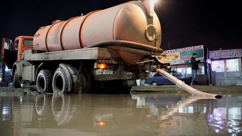 Ежесуточно в столице откачивают до 30 тысяч кубометров воды