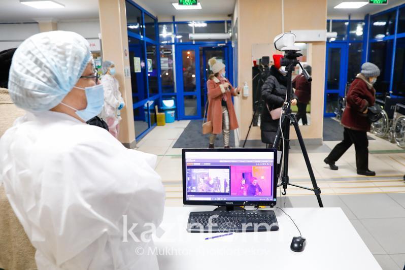 Восемь регионов Казахстана остаются в «красной» зоне по коронавирусу