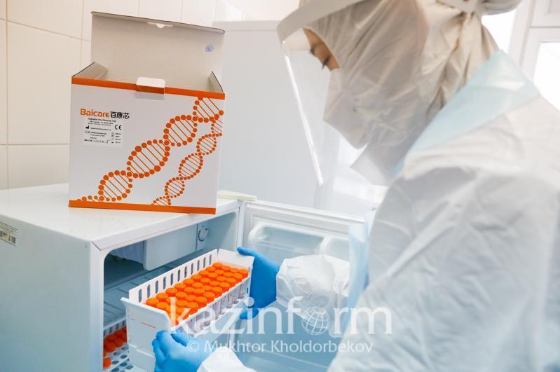 哈萨克斯坦24小时内新增2842例新冠确诊病例
