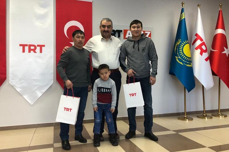 Түркия Президентінің назарын аударған қазақстандық оқушыға құрмет көрсетілді