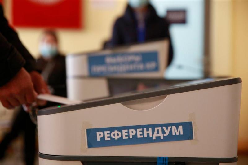 Выборы и референдум по проекту Конституции завершились в Кыргызстане