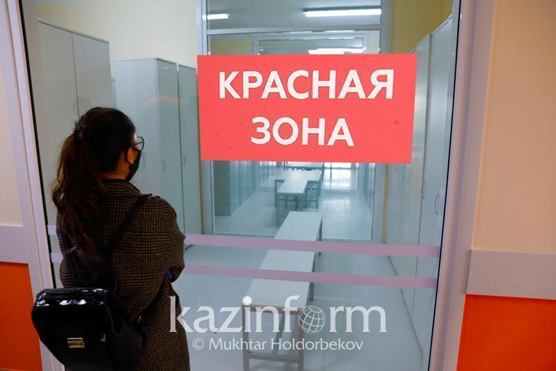 Коронавирус: восемь регионов Казахстана находятся в «красной» зоне