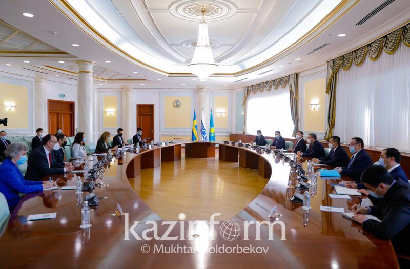 Что обсуждали МИД РК и председатель ОБСЕ в Нур-Султане