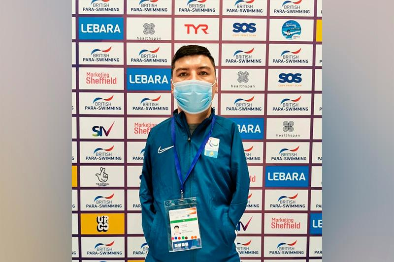Kazakhstan pockets silver at British Para-Swimming International Meet