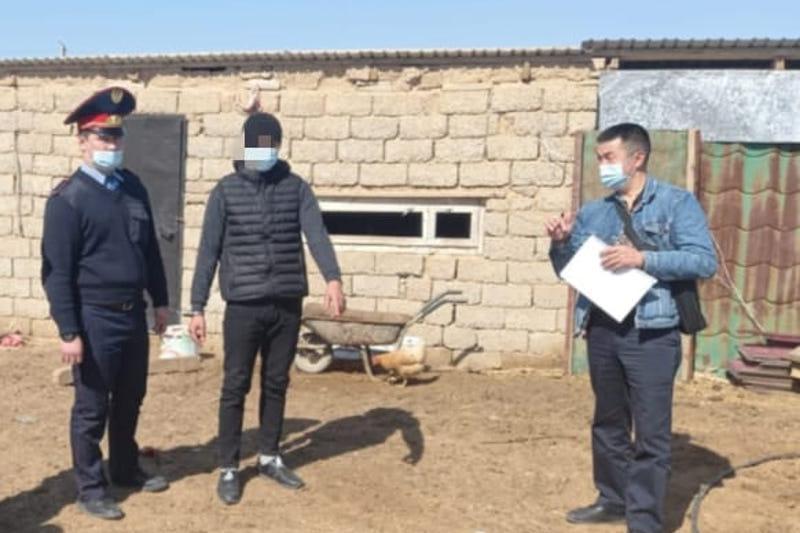 Скотокрадством и воровством имущества промышляла преступная группа в Туркестанской области