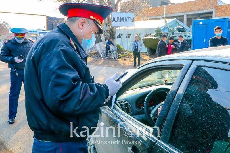 Көксу ауданына блокпост қойылды - Алматы облысы