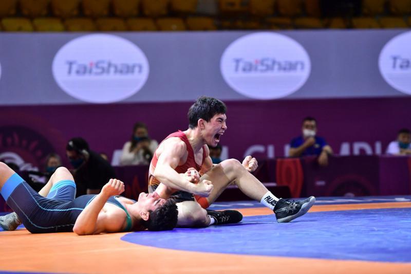 Kazakhstan clinches gold at Asian Greco-Roman Championship
