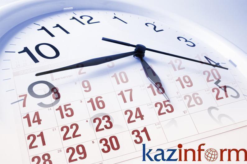 April 14. Kazinform's timeline of major events