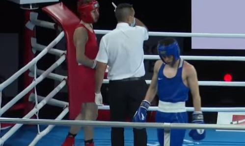Казахстанский боксер стартовал с двух нокдаунов на МЧМ в Польше