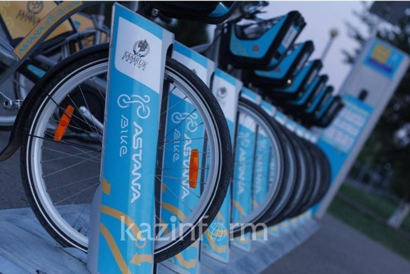 Восьмой велосезон стартует 15 апреля в Нур-Султане