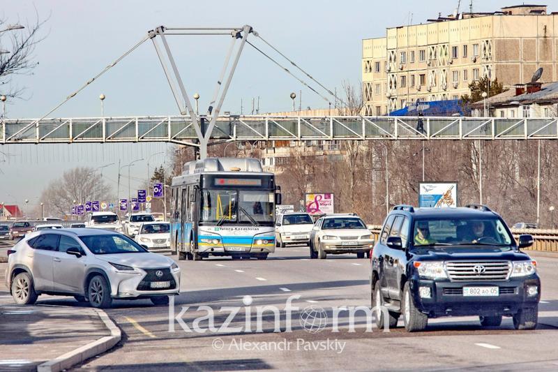 Названы самые опасные перекрестки в Алматы