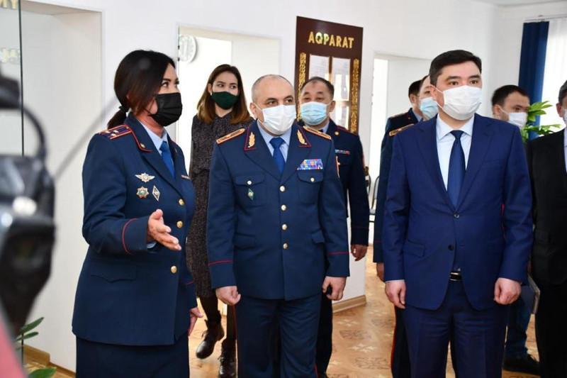 Новые офисы «Adaldyq alańy» открыли при подразделениях полиции в Акмолинской области