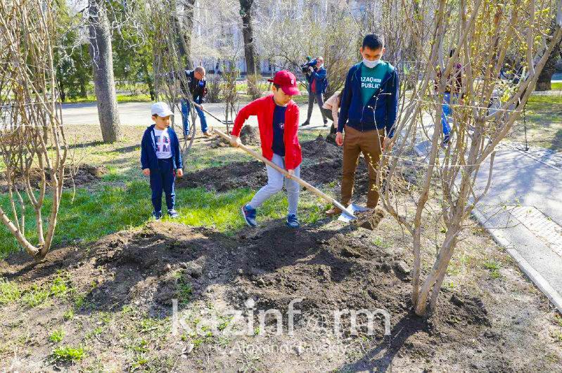 Сағынтаев: Алматыда жыл ішінде жасыл желекпен қамтамасыз ету бір адамға шаққанда 1,6 есеге өсті