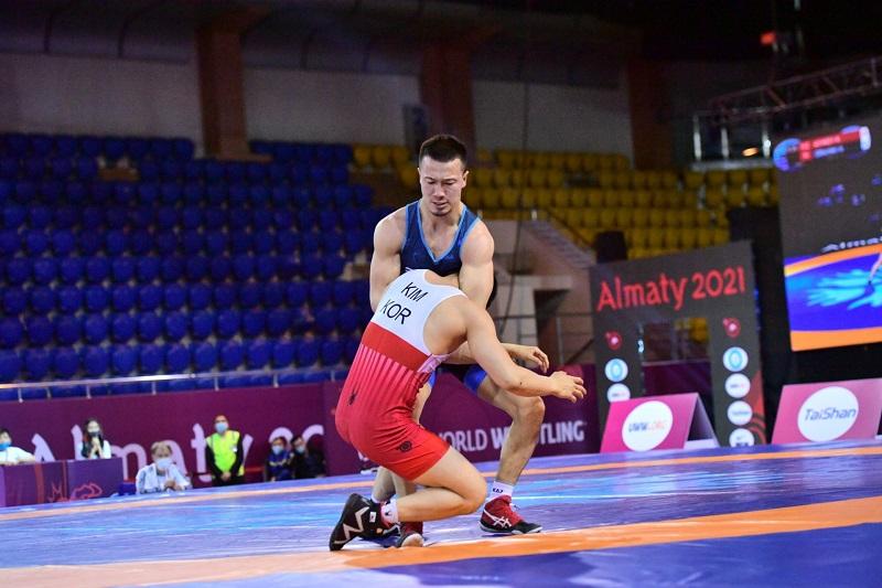 Грек-рим күресінен Айдос Сұлтанғали Азия чемпионы атанды
