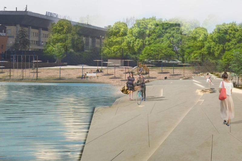 Как изменится набережная озера Сайран в Алматы