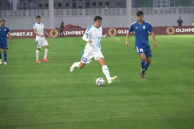 ФК «Тараз» - на третьем местев пятом туре чемпионата РК