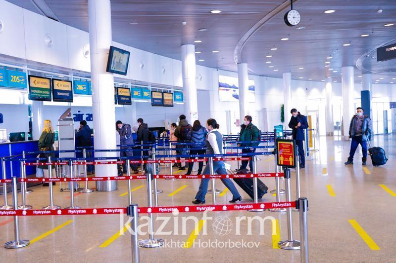 Ограничен допуск провожающих и встречающих в казахстанских аэропортах