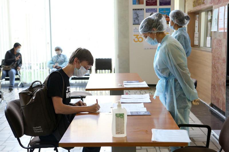 Алматыдағы Ә. Қастеев музейінде вакцина салу орны ашылды