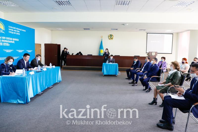 Проект «День партии» презентовал «Nur Otan» в столице