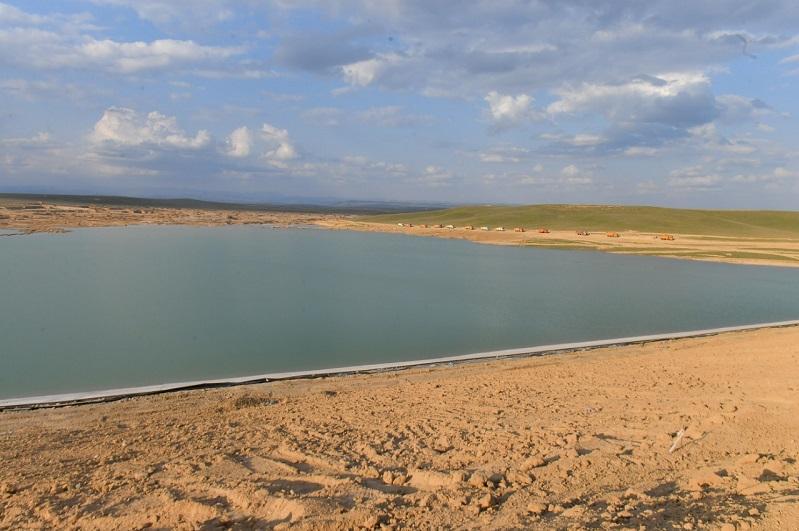 Новое водохранилище построили в Туркестане