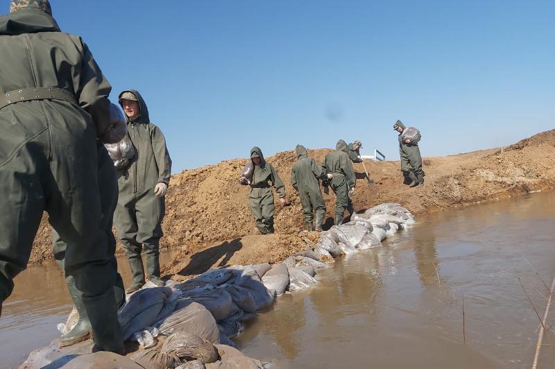 Аршалы ауданында су тасқынына қарсы жұмыс жүргізіліп жатыр