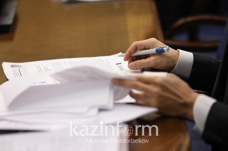 Almaty ákimdiginde áleýmettik áriptestikti retteý máselesi qaraldy