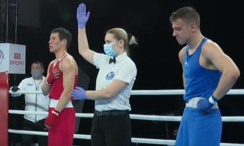 Казахстанец оформил нокаут на молодежном ЧМ-2021 по боксу