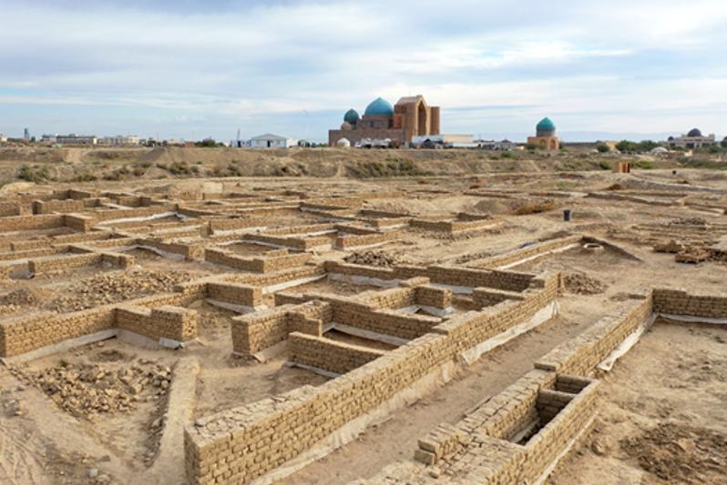 Култўбедаги археологик парк тарихнинг янги саҳифаларини очиб беради