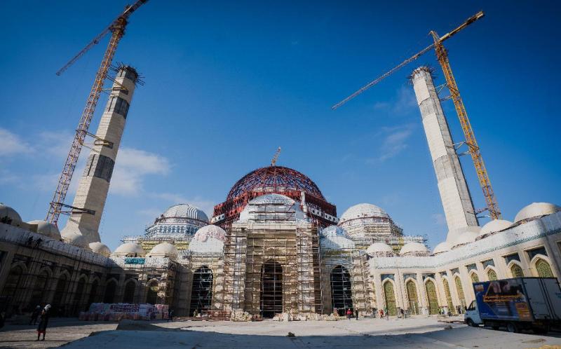 Строительство крупнейшей мечети в Центральной Азии ведется в Нур-Султане
