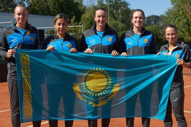 Теннистен Қазақстан әйелдер құрамасы Аргентинаны жеңді