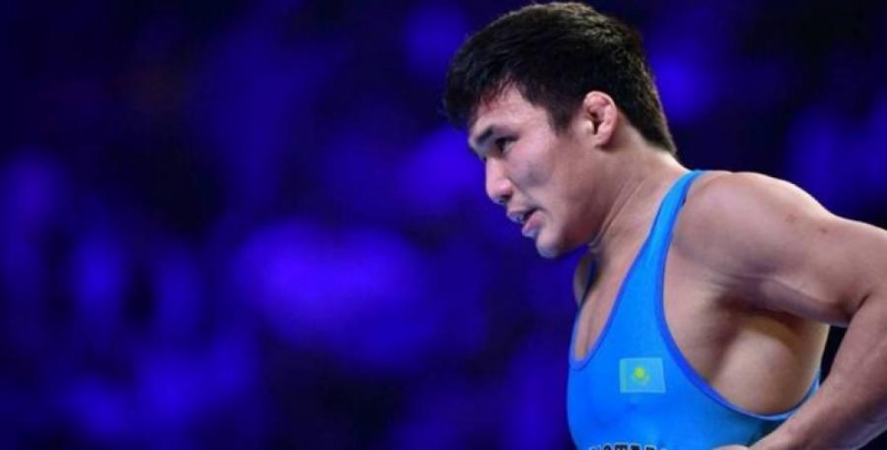 Казахстанский борец стал двукратным чемпионом Азии по вольной борьбе