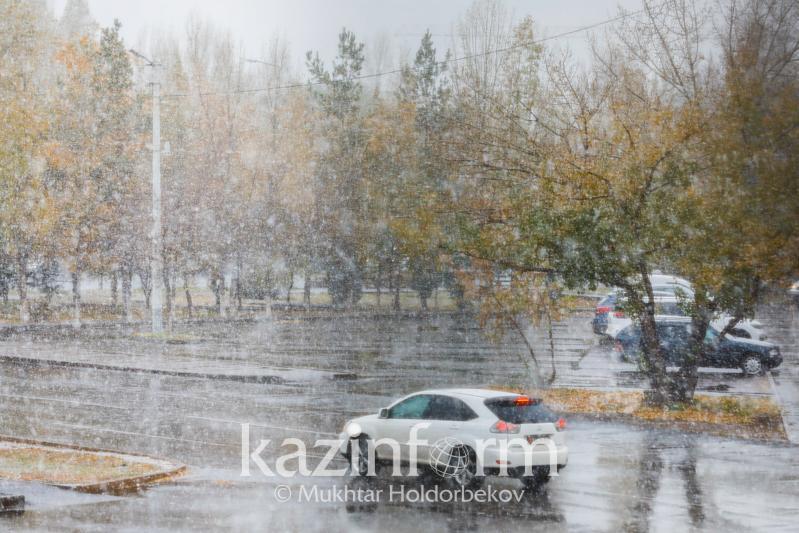 Дождь, снег и ветер прогнозируют 19 апреля в большинстве регионов Казахстана