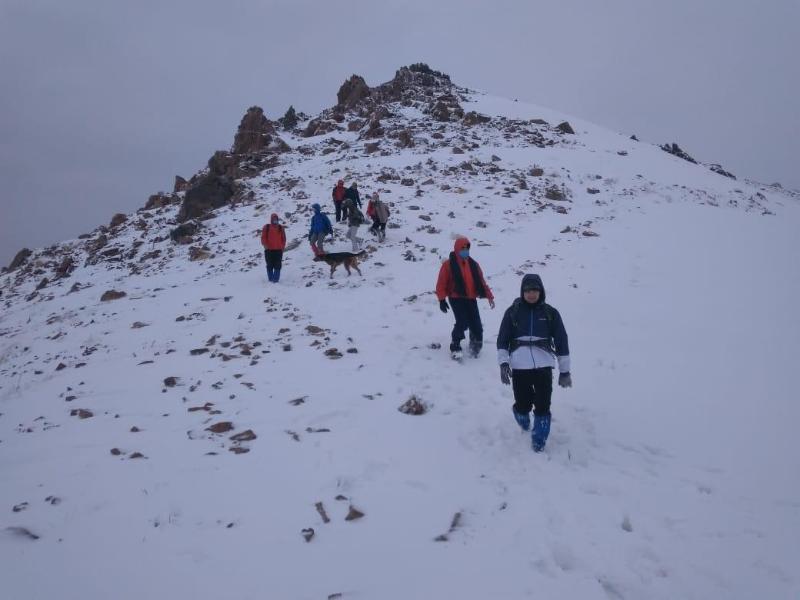 Шесть человек спасли в районе пика Шымбулак спасатели РОСО